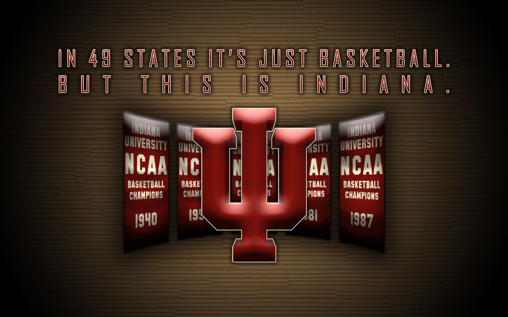 Iu Basketball Indiana Hoosiers Basketball Wallpaper Hoosier