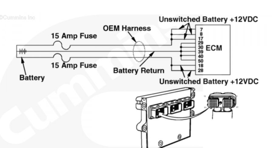 17  Cummins Engine Wiring Diagram 413b Family Ecm -