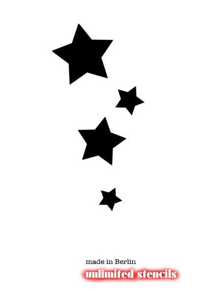 Plantillas De Estrellas Para Tatuar Buscar Con Google Pinterest