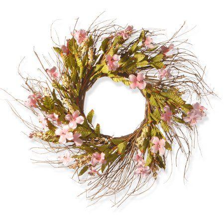 Home Artificial flowers, Dogwood flowers, Pink dogwood