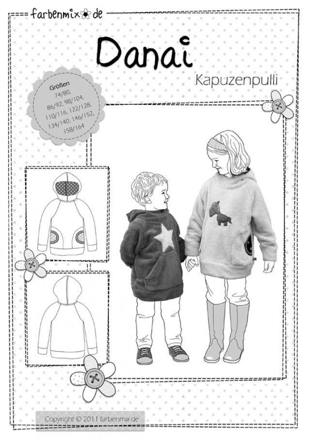 DANAI, Papierschnittmuster - farbenmix Online-Shop - Schnittmuster ...