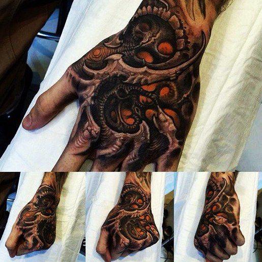 Moi Zakladki Hand Tattoos Organic Tattoo Bio Organic Tattoo
