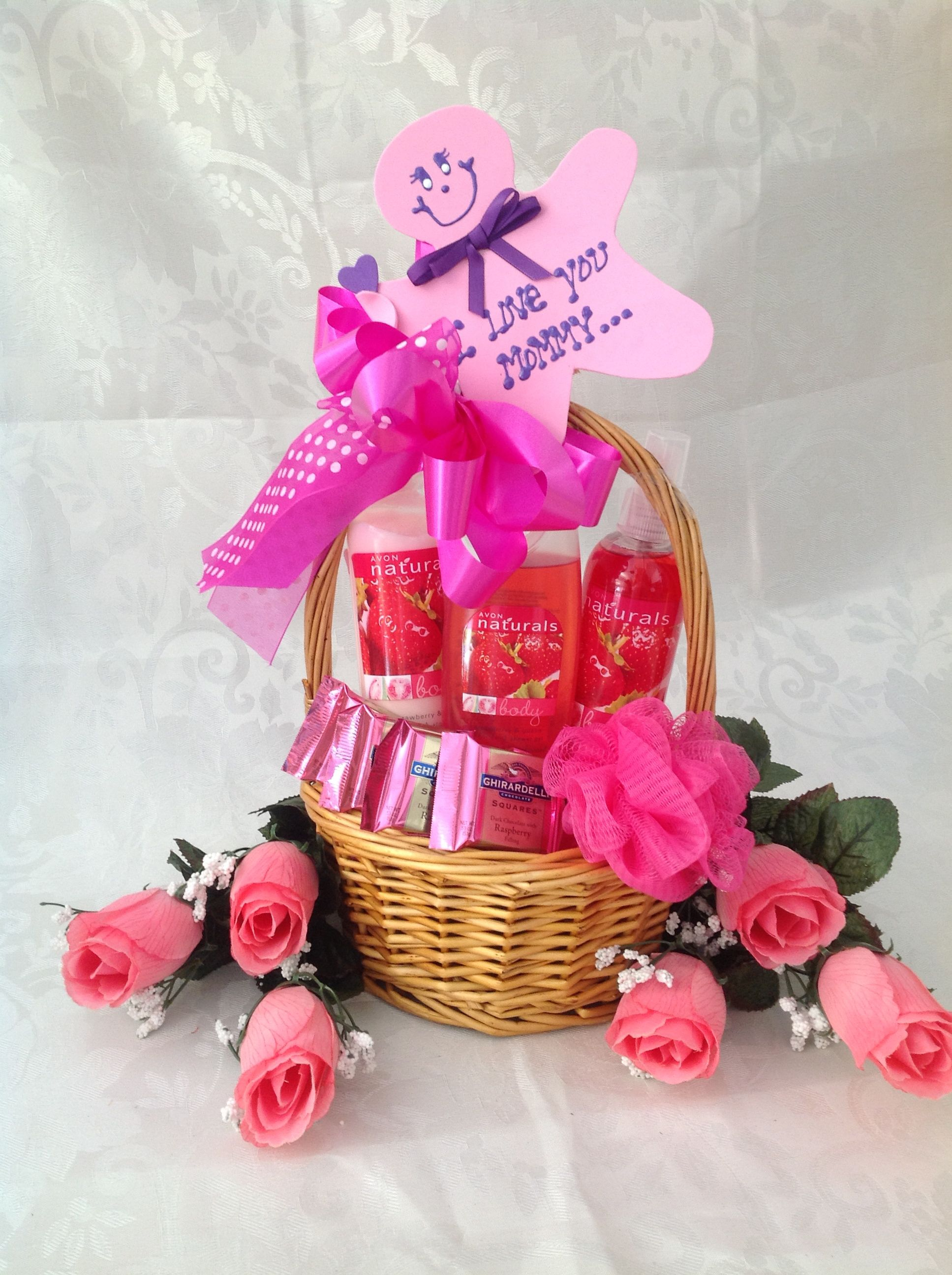 how to make avon gift baskets