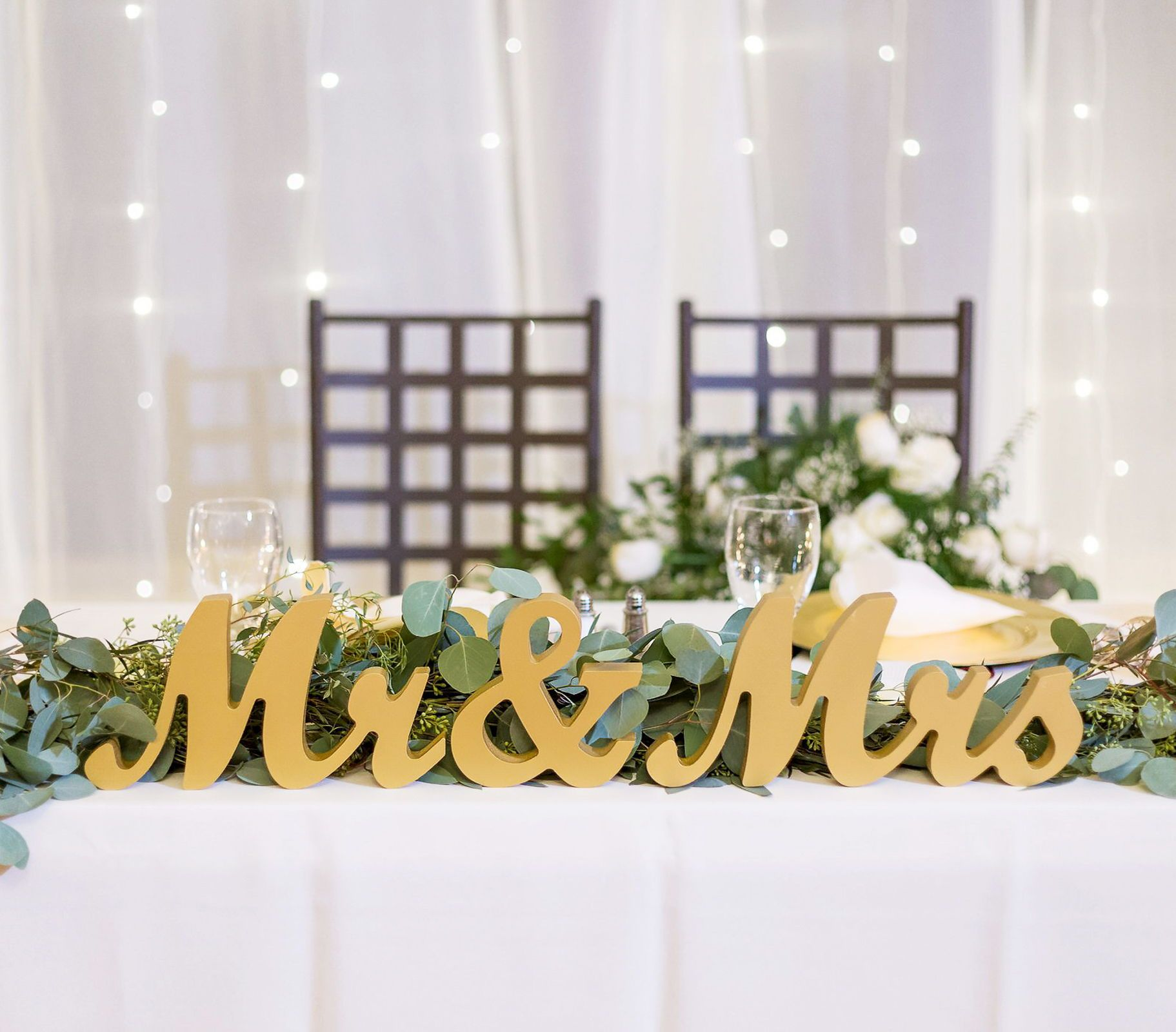 Mr Mrs Wedding Table Signs Signing Table Wedding Wedding Table Sweetheart Table Wedding