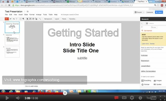 how to create presentation videos using free software online