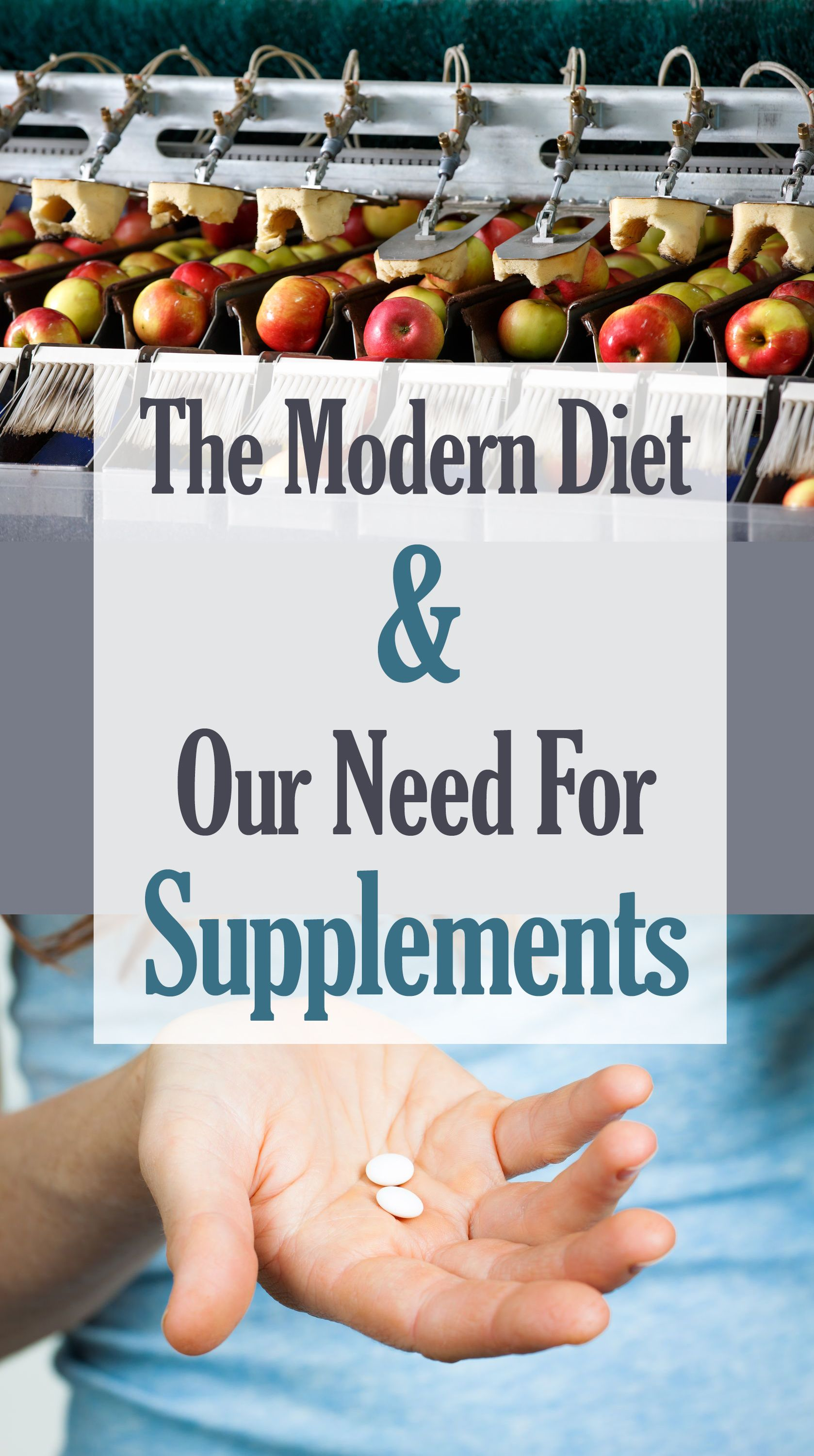 Whilst supplements aren't meant to replace a nutritious