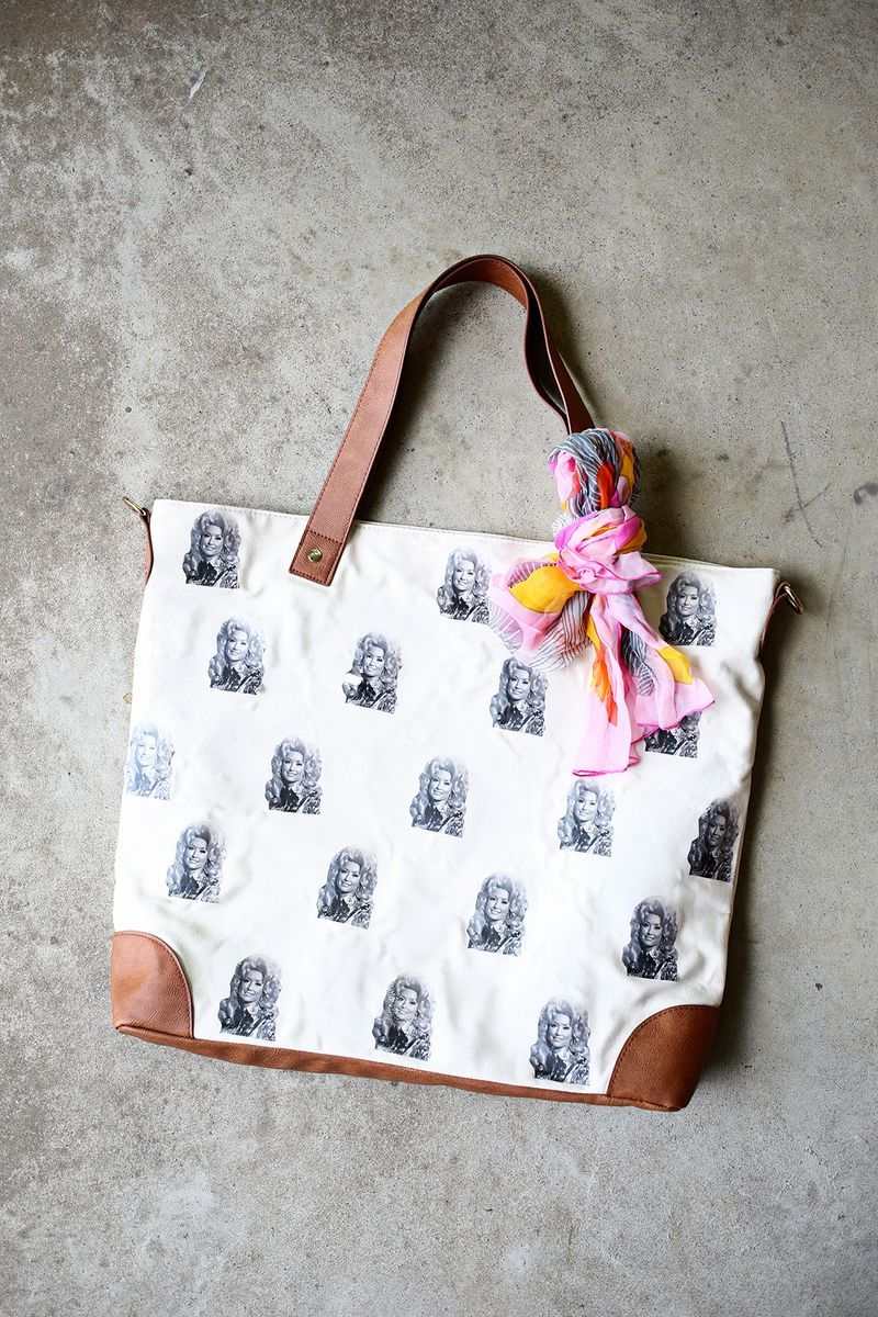 DIY Dolly Parton Bag!