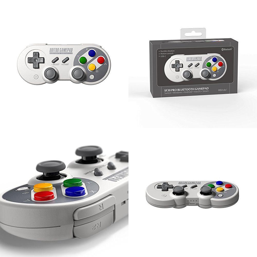 8bitdo Sf30 Pro Wireless Bluetooth Controller Gamepad Dual Classic Joystick For Wireless Controller Wireless Control