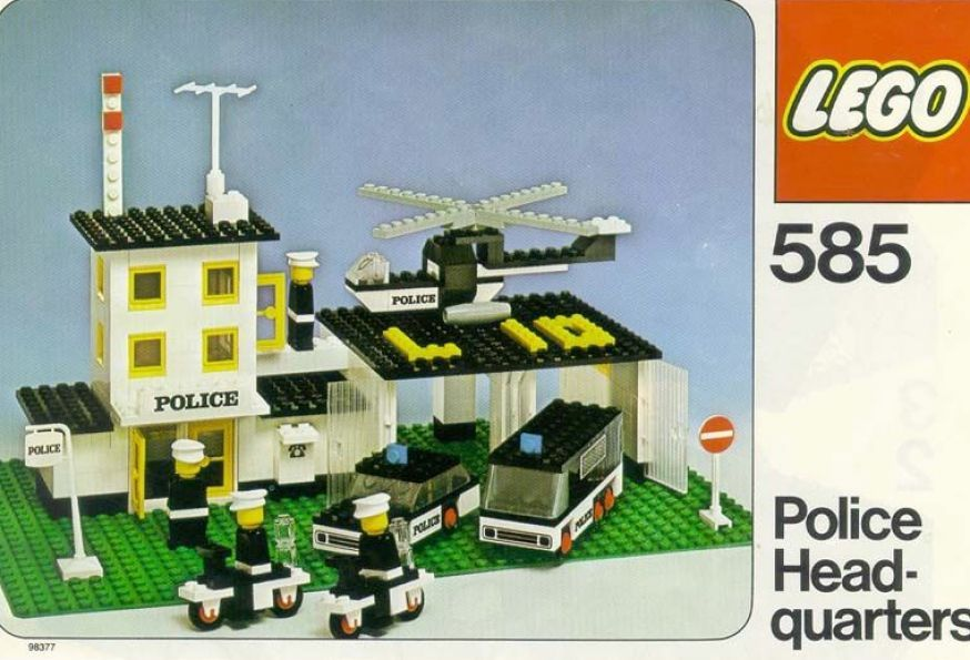 One Of The Many Sets I Had Growing Up Classic Lego Lego Police Classic Lego Sets