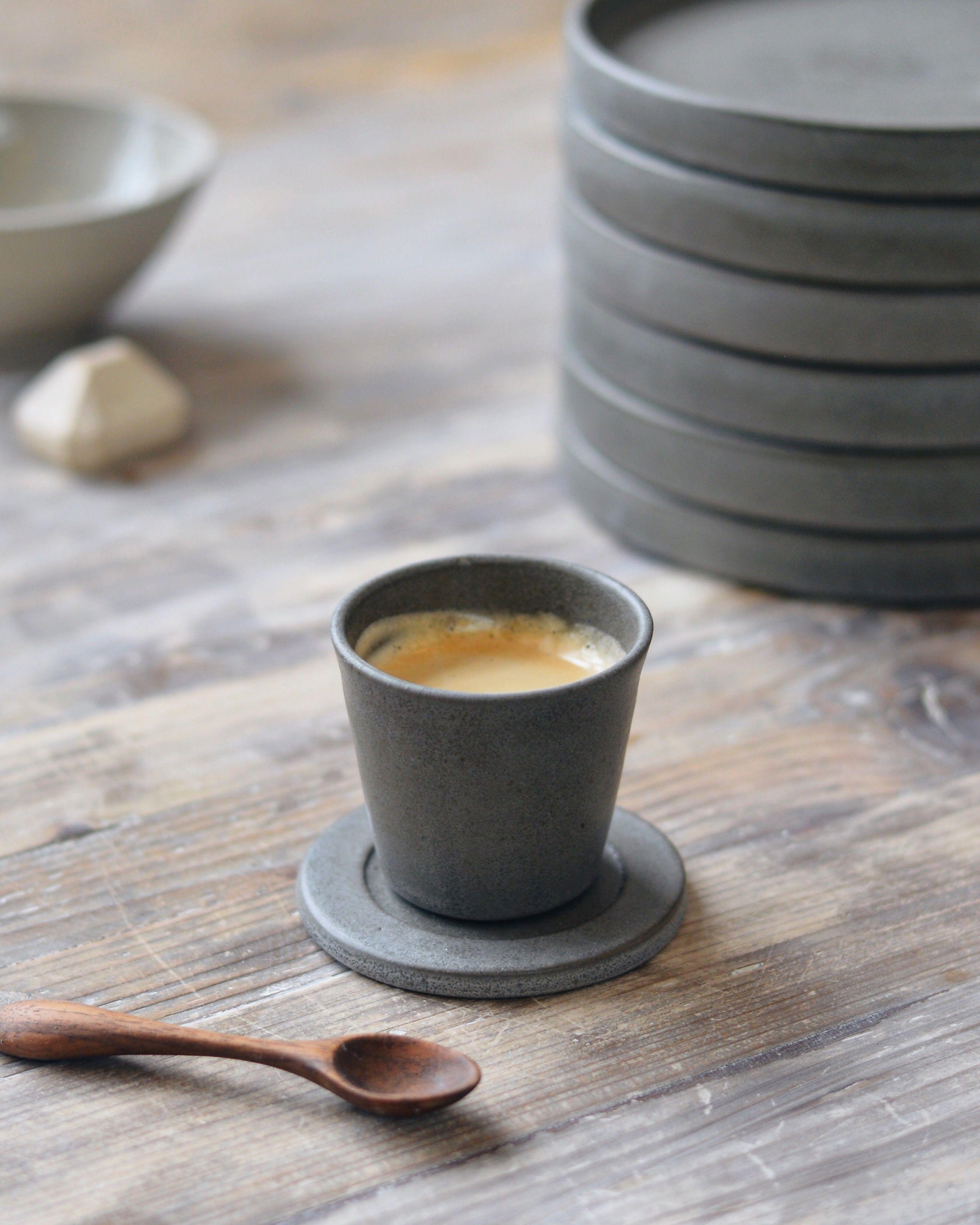 Espresso Cup And Rest By Jono Smart Espresso Cups Ceramic