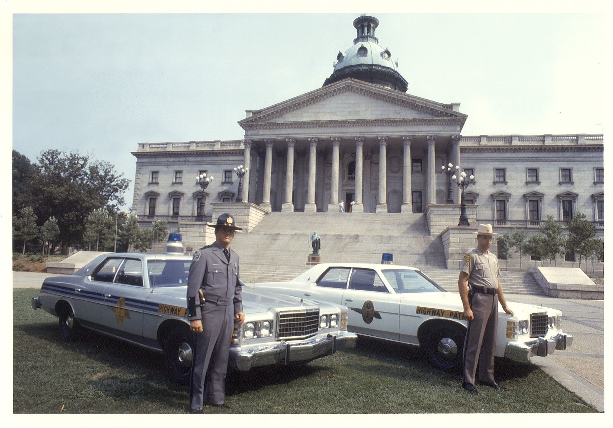 Ford Ltds South Carolina Highway Patrol Old Police Cars Ford Police