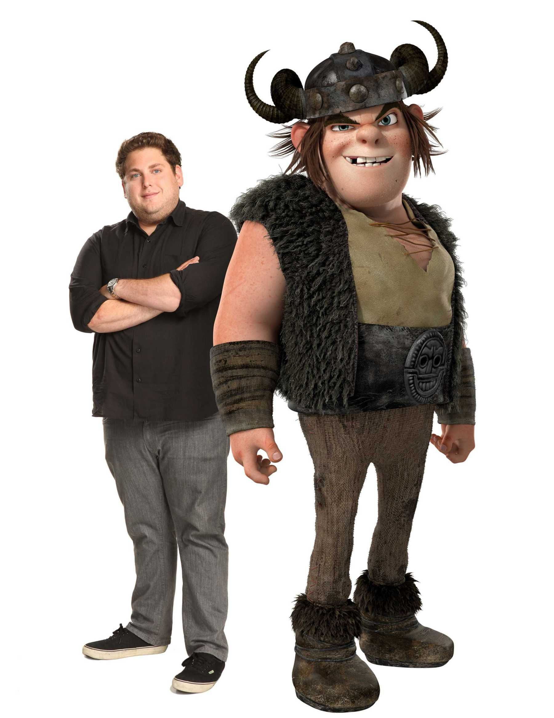 """Jonah Hill voices """"Snotlout"""" in the DreamWorks Animation film """"How"""