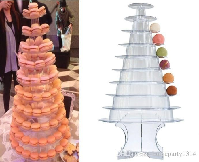 Macaron Display Rustic Wedding Decor Cake Display Macaron Tower