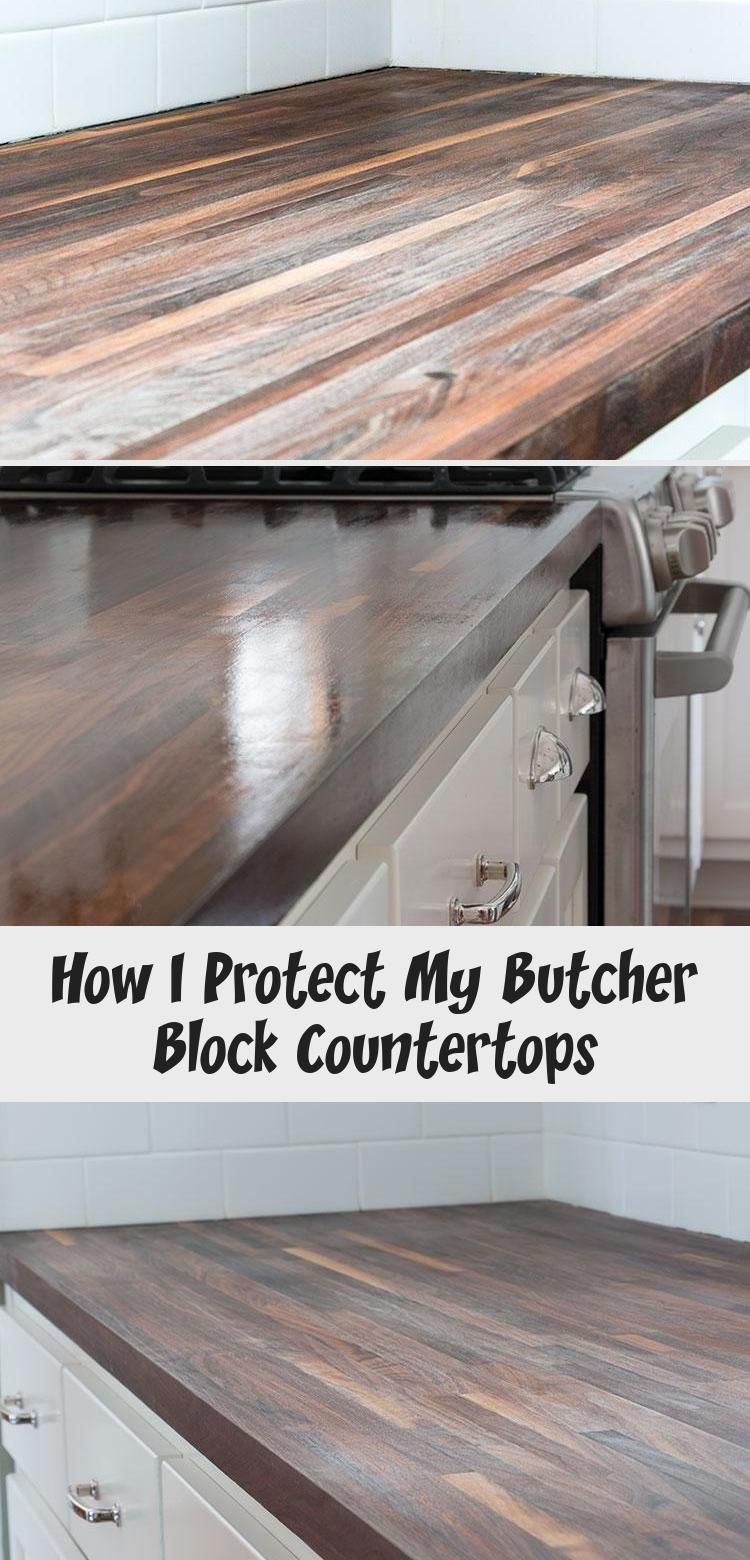 How I Protect My Butcher Block Countertops 2020 Goruntuler Ile