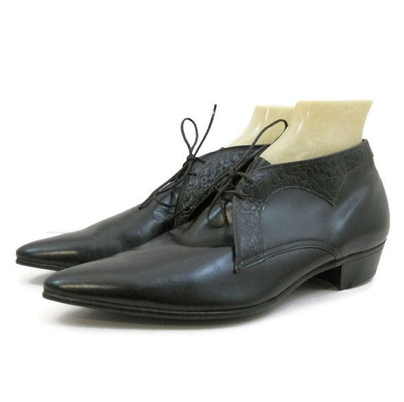 419fa19906e1 Vintage Mens Shoes 60s Pointy Winklepicker by VogueVintageMenswear ...