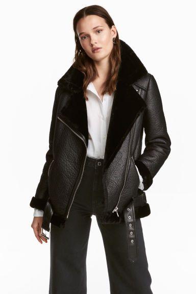 veste de style motard femme
