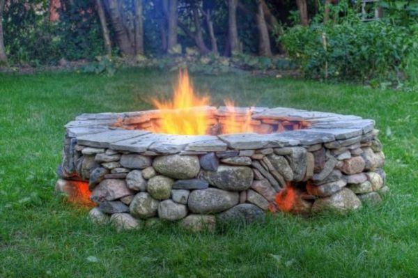 feuerstelle im garten bauen – usblife, Garten und Bauten