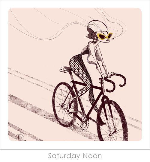Biker Girls print set, Priscilla Wong