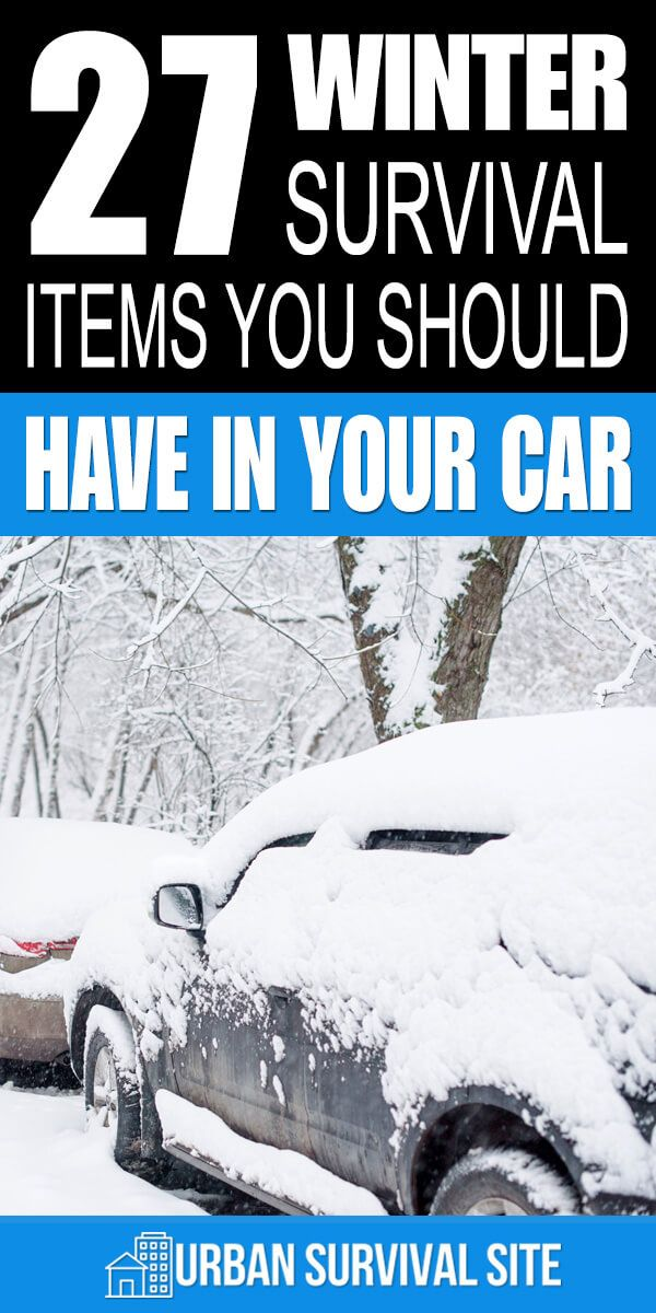 27 Winter Survival Items You Should Have In Your Car #wintersurvivalsupplies