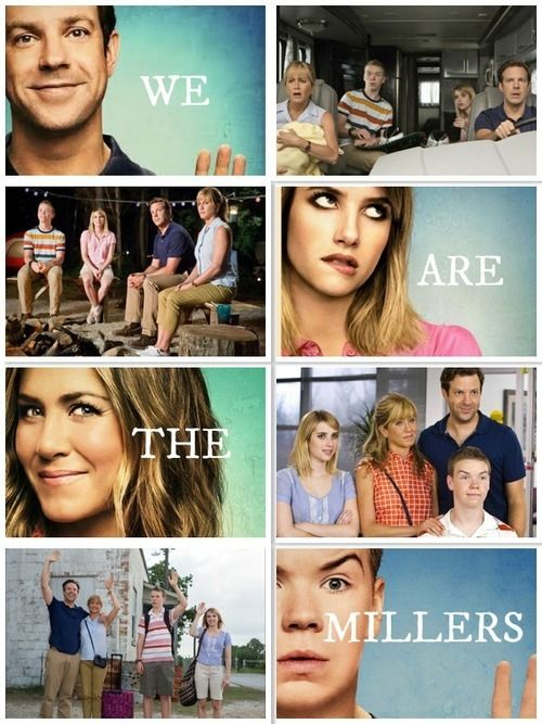 We're the Millers. This movie is so freaking hilarious!