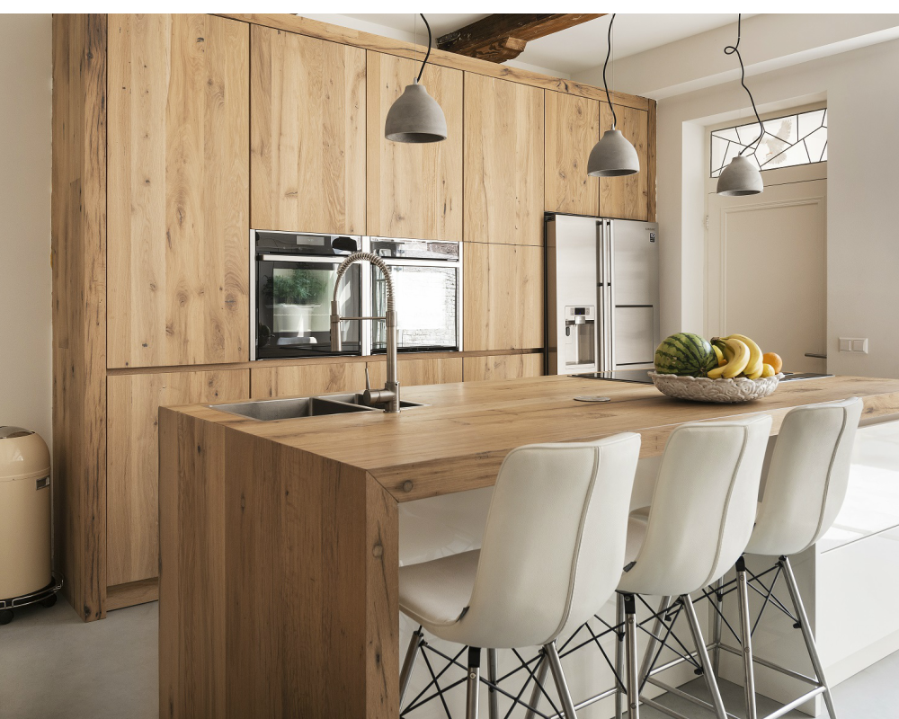 Houten keukenblad restylexl keukenbladen met karakter kitchen