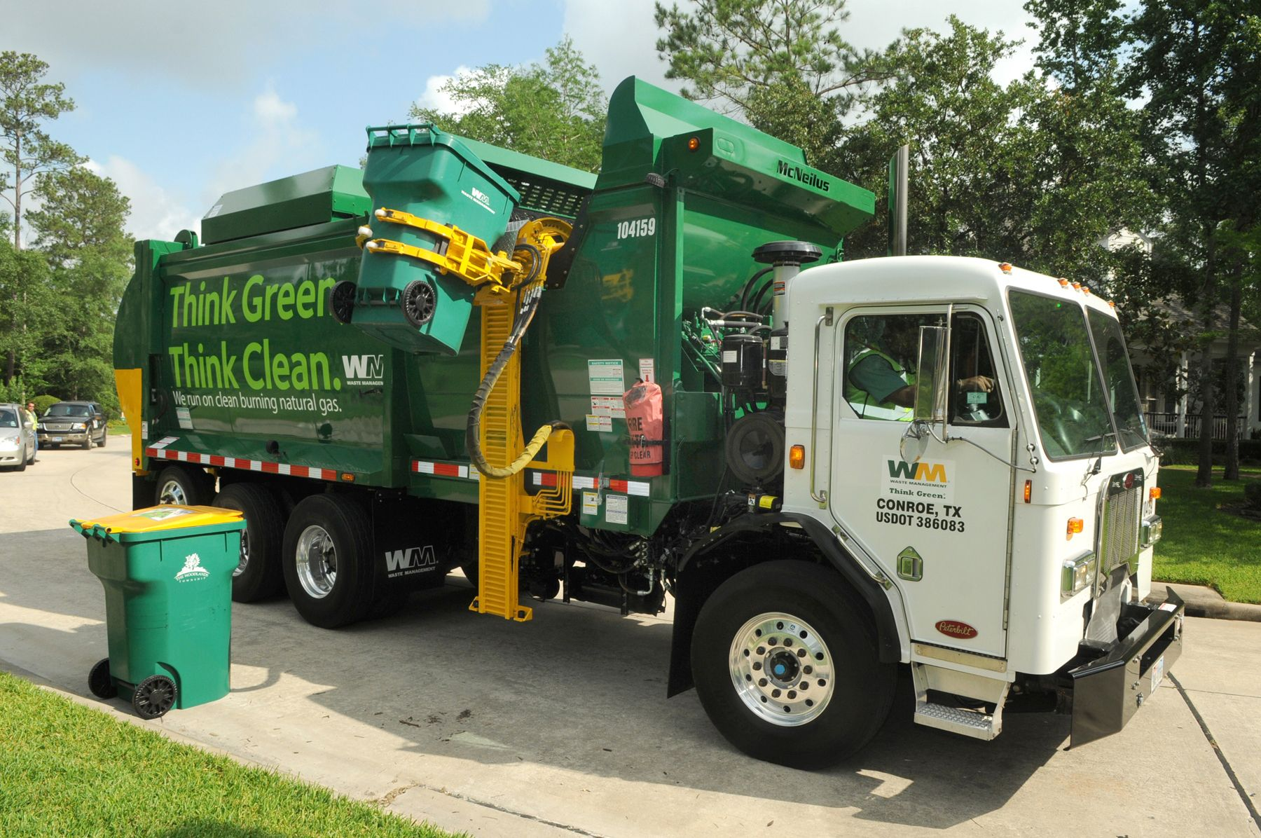 hight resolution of waste management cuts 650 jobs