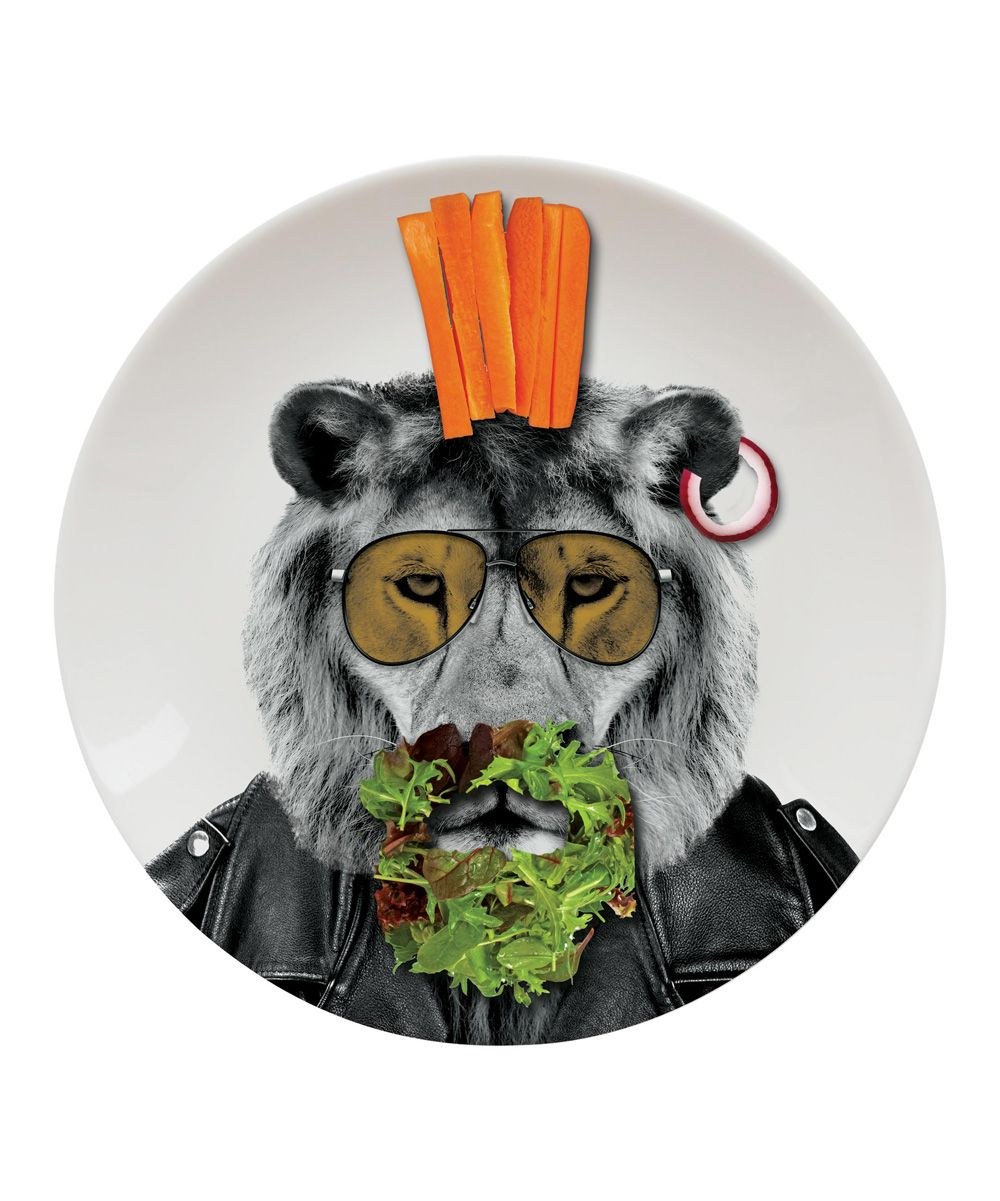 Lion Wild Dining Party Plate Dinner plates, Fun dinners