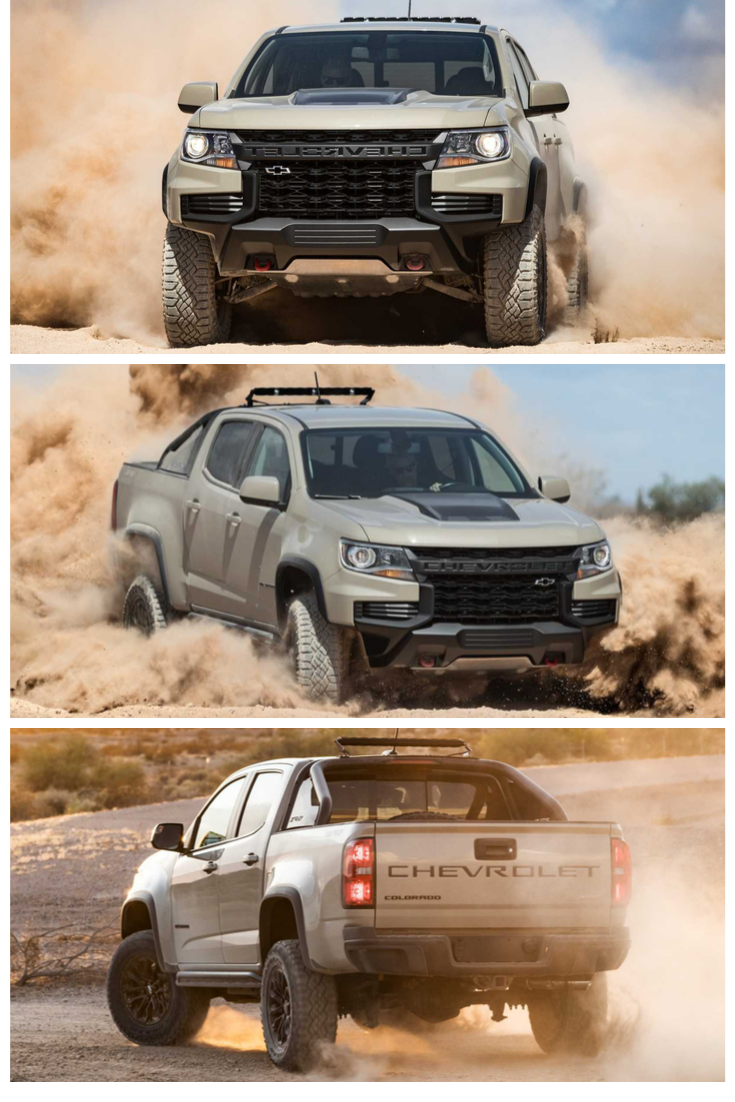 This 2021 Chevrolet Colorado Zr2 Off Road Pickup Truck Accessories