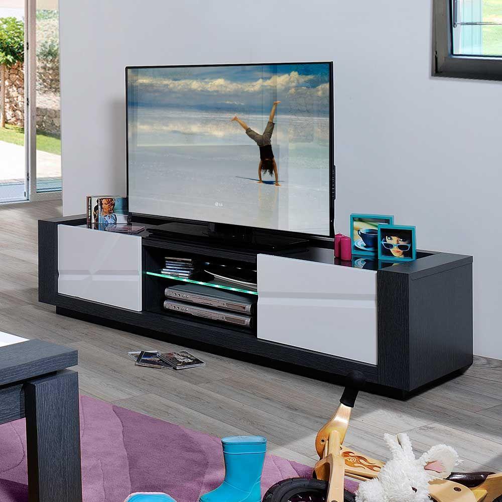 Tv schrank modern led  Tv Schrank Weiß Holz: Landhaus tv möbel tv schrank holz fichte ...