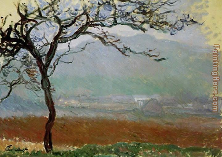 Claude landscape at giverny painting claude