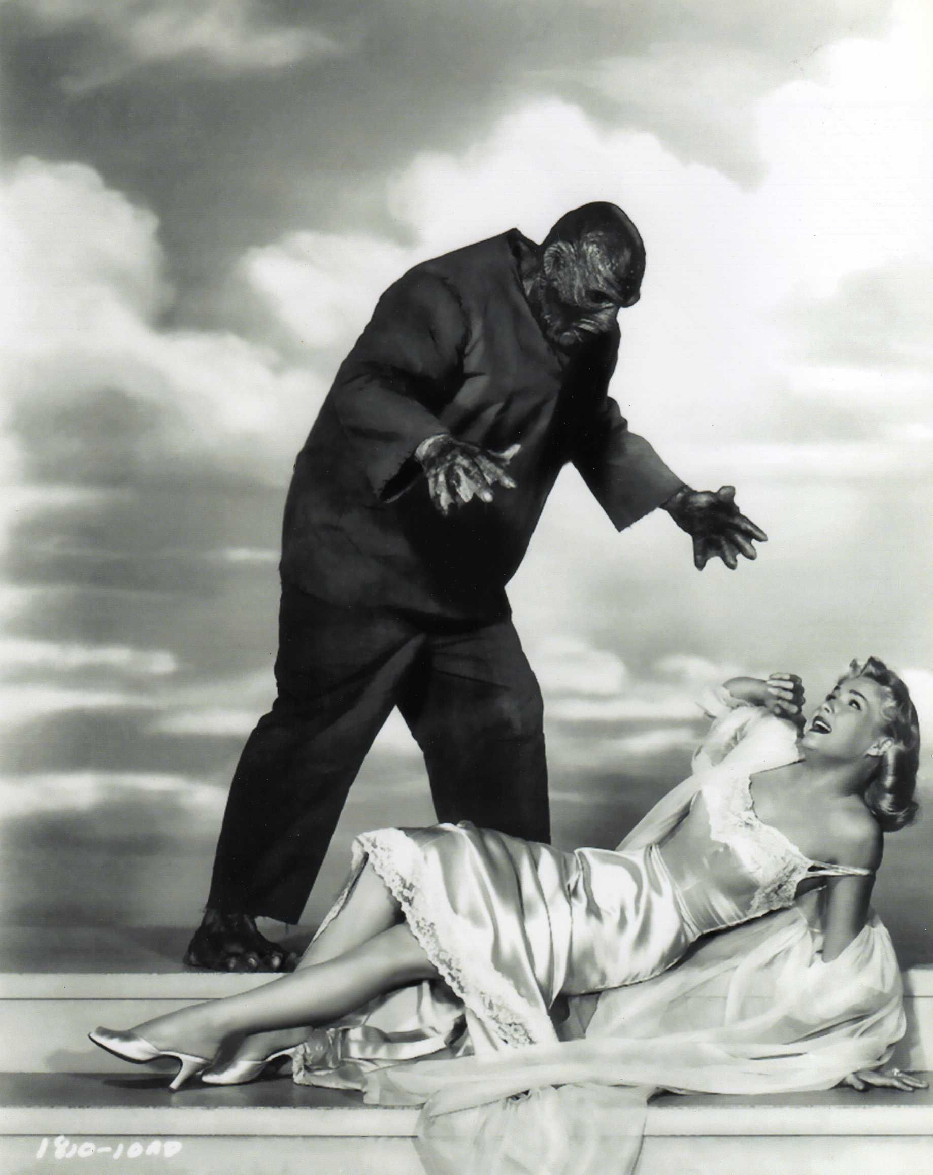 Leigh Snowden in The Creature Walks Among Us (1956) in