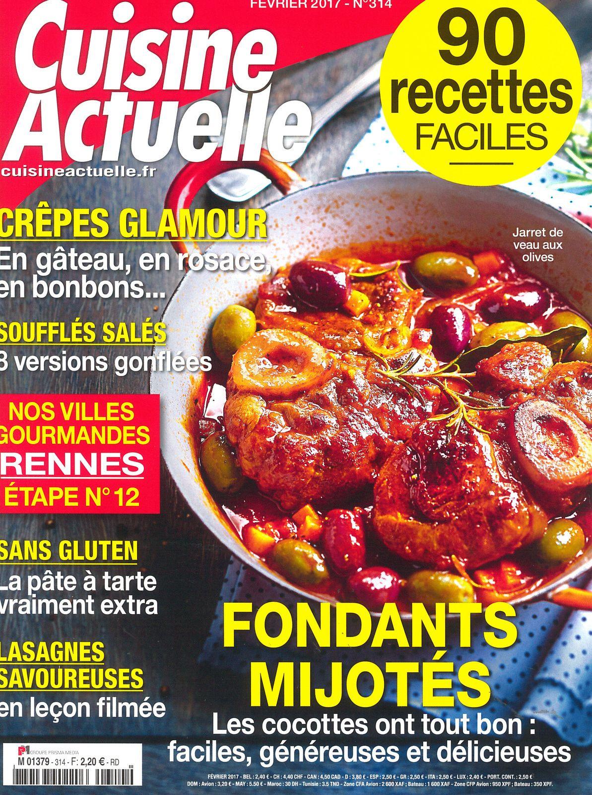 Le Magazine Cuisine Actuelle Et Son Dossier Special Crepes