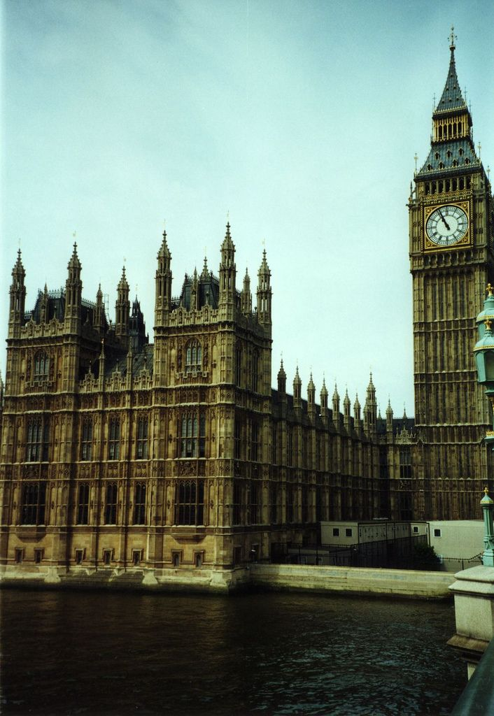 Parliament. Home of the Norsefire and source of the