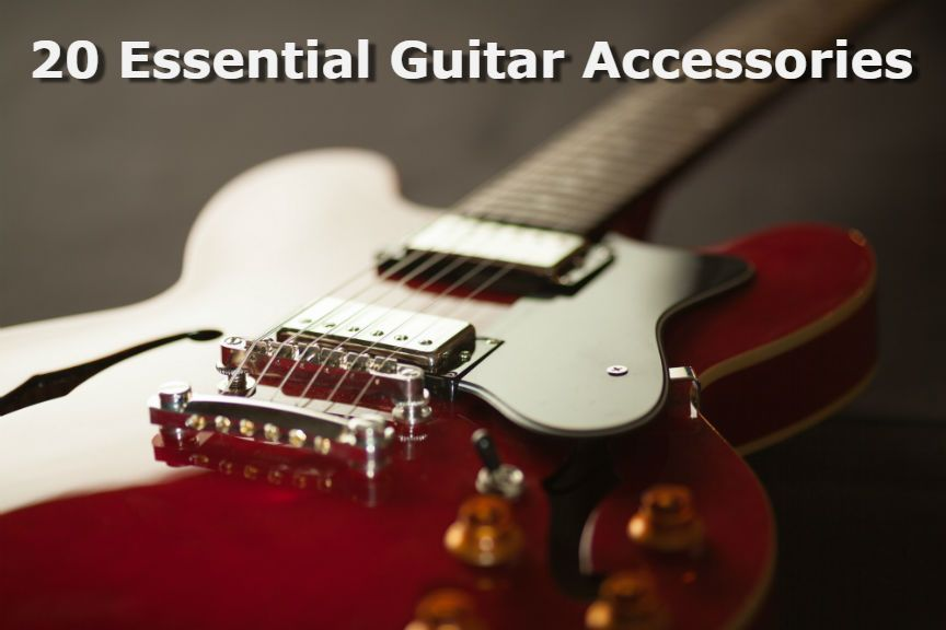 20 Best Essential Guitar Accessories Every Guitar Player Must Have Electric Guitar Learn Guitar Easy Guitar