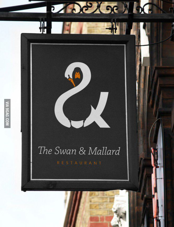 Great use of positive and negative space - 9GAG