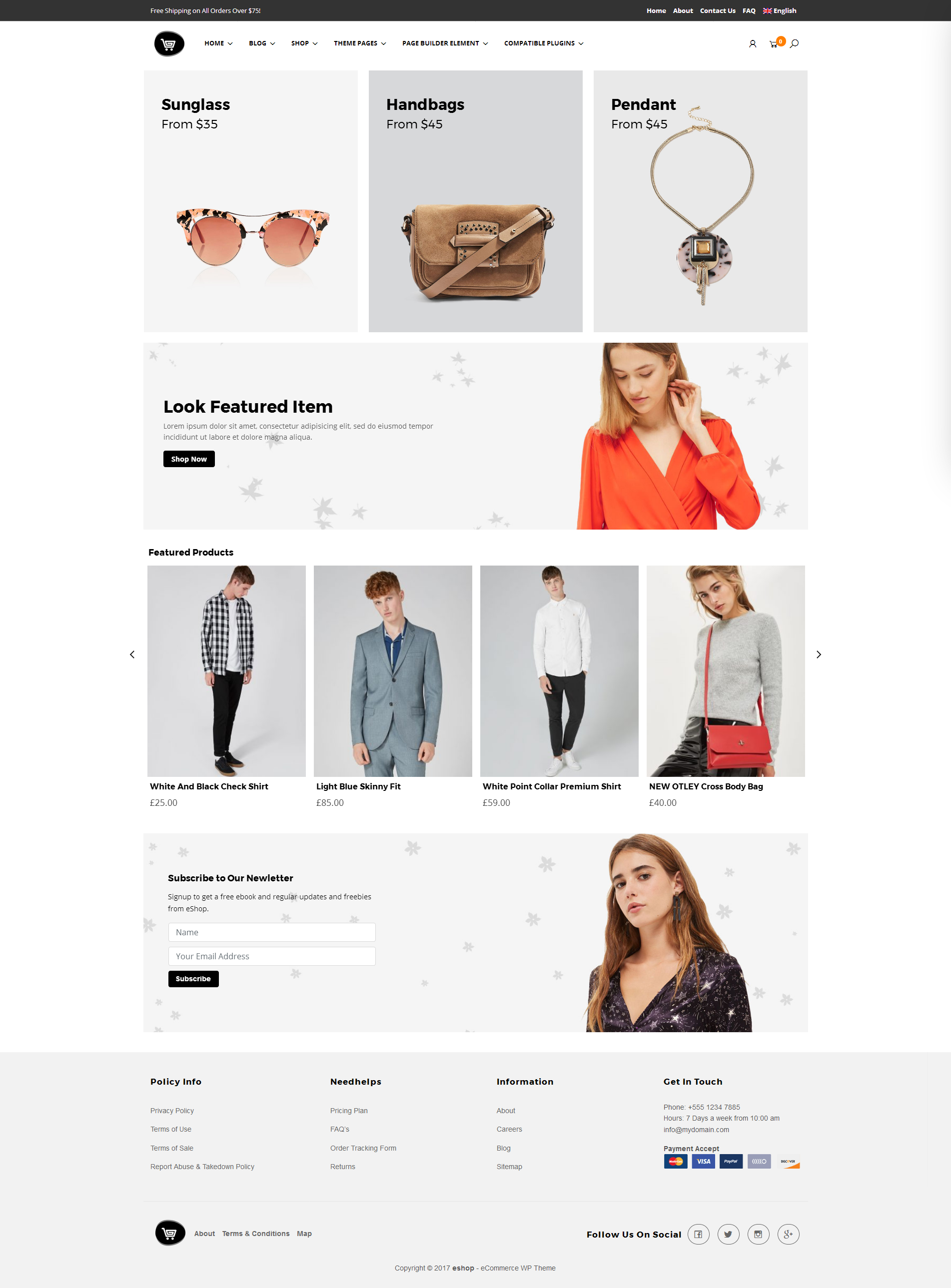 Storebox ecommerce theme from Templatic. (https://templatic.com ...