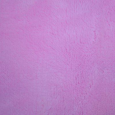 Super soft pink fur backing