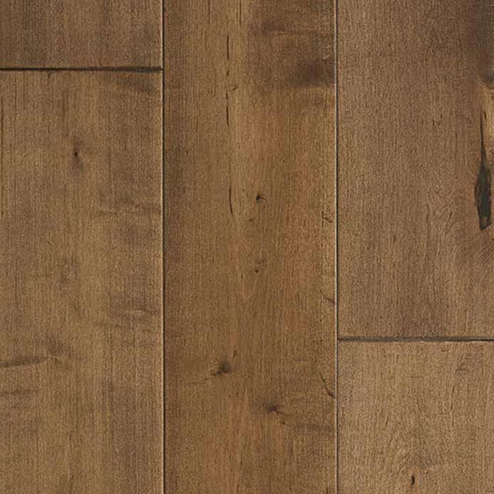 Malibu Wide Plank Maple Cardiff 3 8 In Thick X 6 1 2 In Wide X Varying Length Engineered Click Hardwood Flooring 23 64 Sq Ft Case Hdmpcl206ef The Home D Engineered Hardwood Flooring Wood Floors