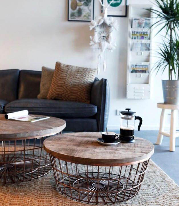 Copper pipe wire round storage coffee table by smithersofstamford on copper pipe wire round storage coffee table by smithersofstamford on etsy httpswww keyboard keysfo Gallery
