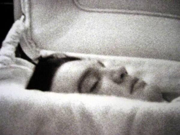 Johnny Cash Open Casket An open casket... johnny cash