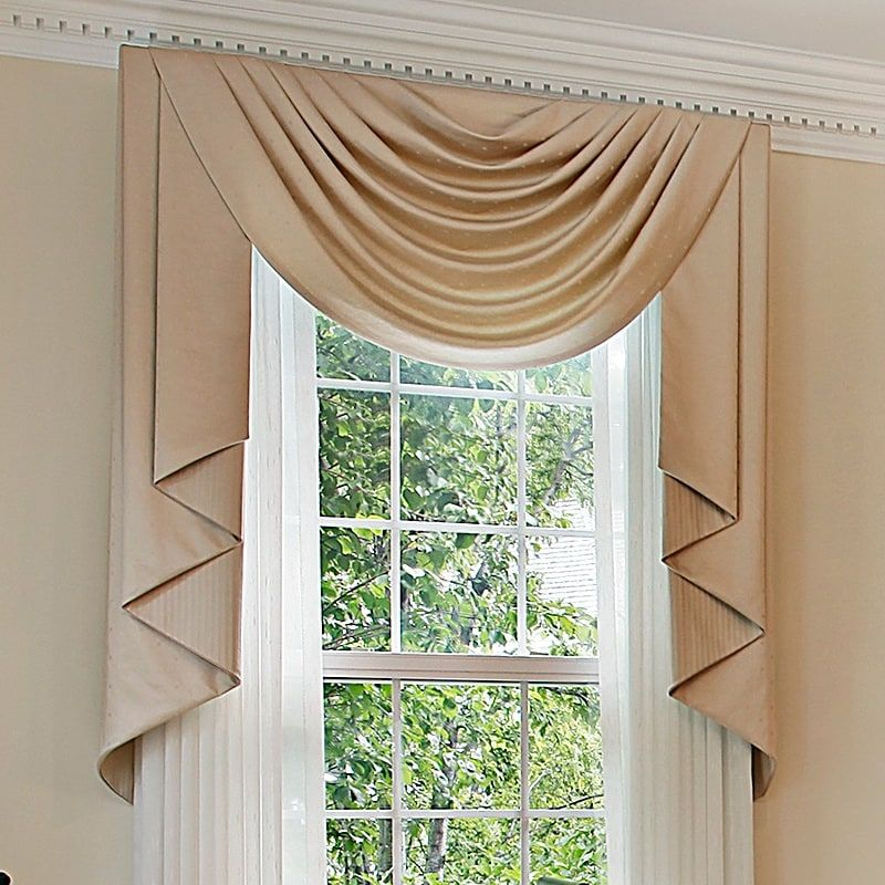 20 Living Room Window Valances Magzhouse, Modern Valances For Living Room