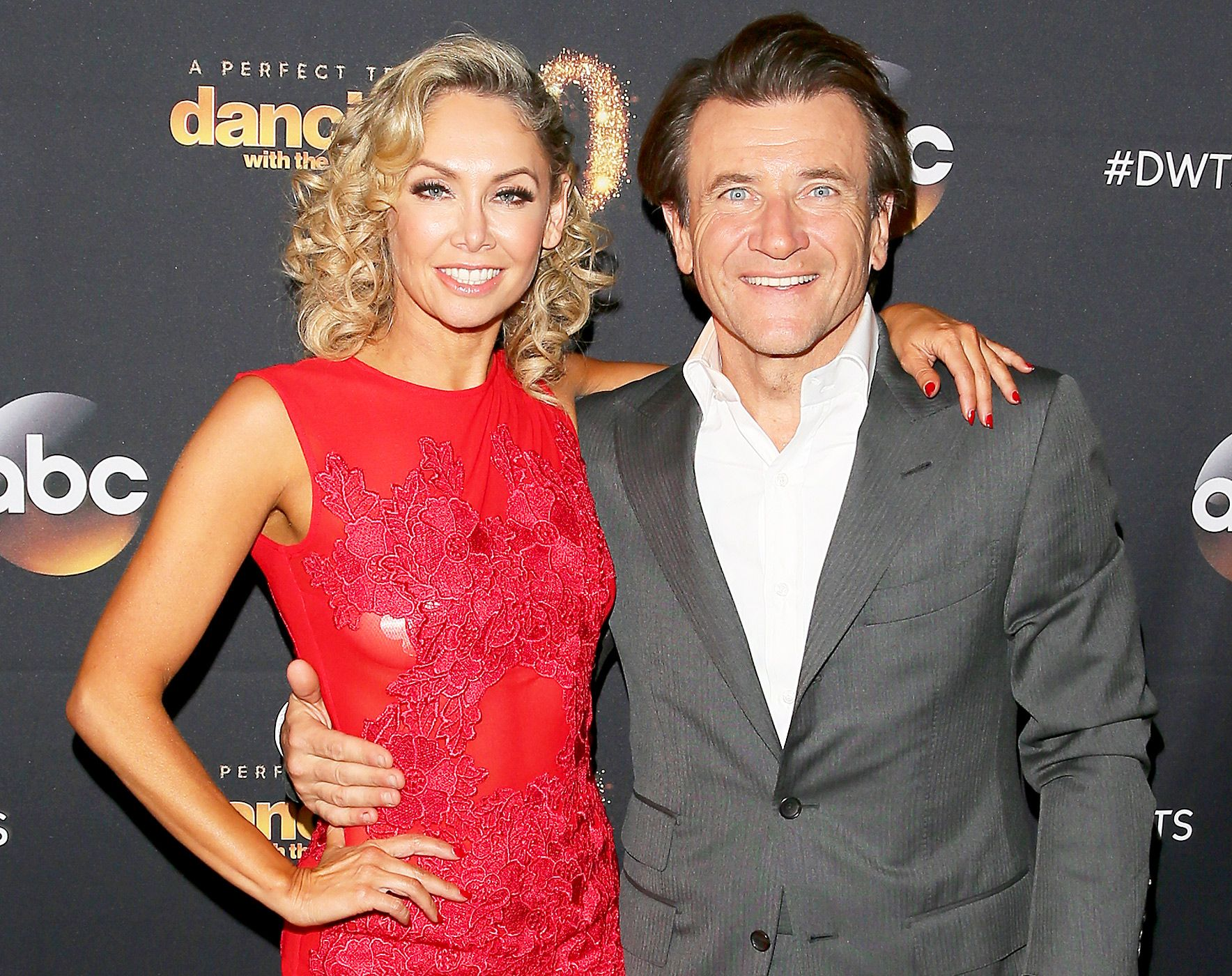 3. Kym Johnson and Robert Herjavec