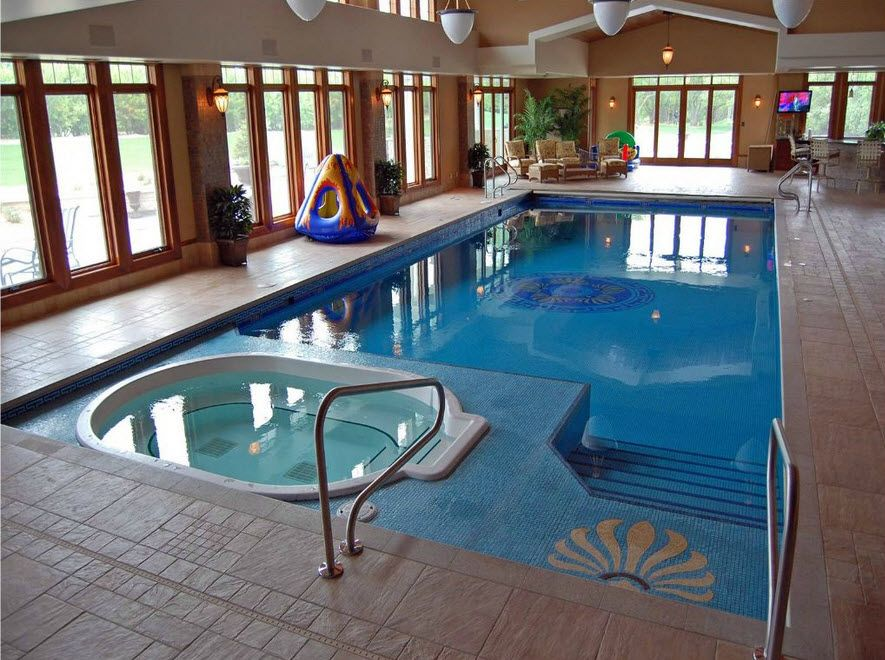 The Master Pools Guild Presents 20 Fabulous Residential Indoor Pools Indoor Swimming Pool Design Small Indoor Pool Indoor Pool House