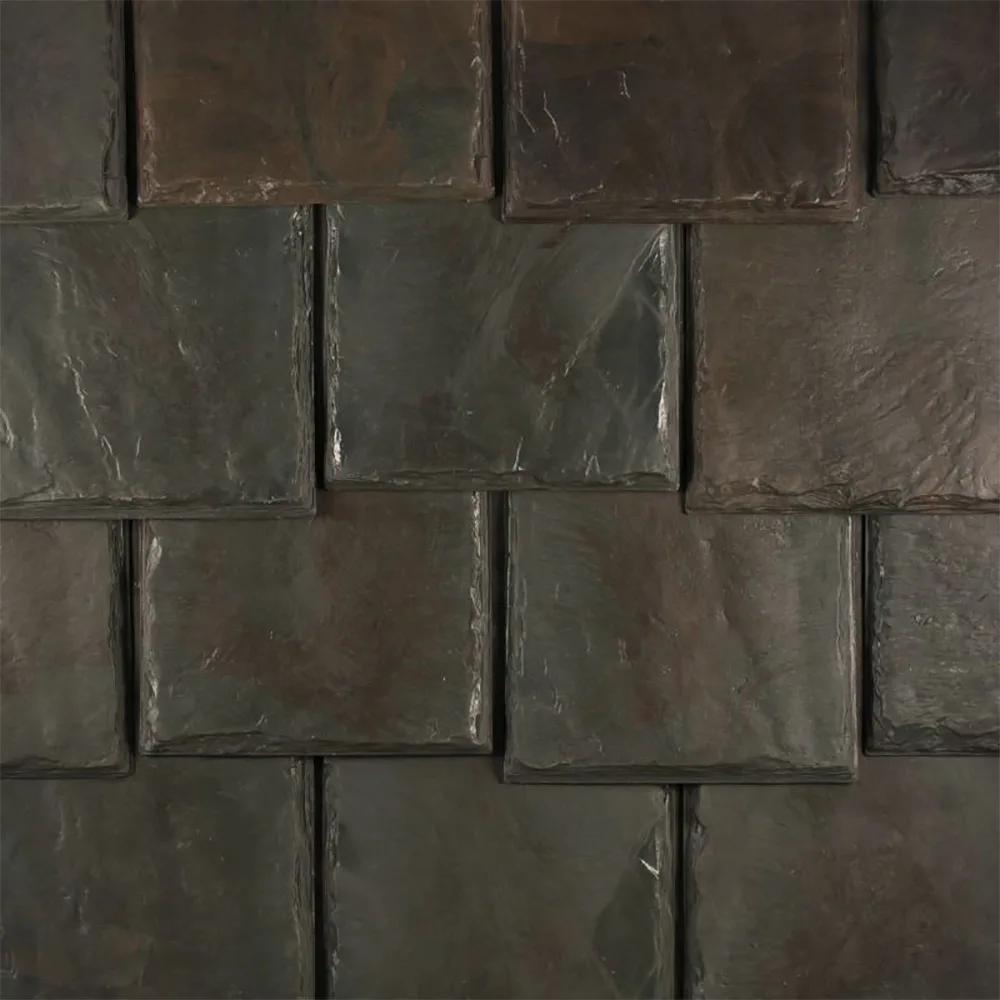Best Brava Old World Rubber Slate Roof Tiles Eco Friendly 400 x 300