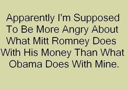 How Obama spends my money...