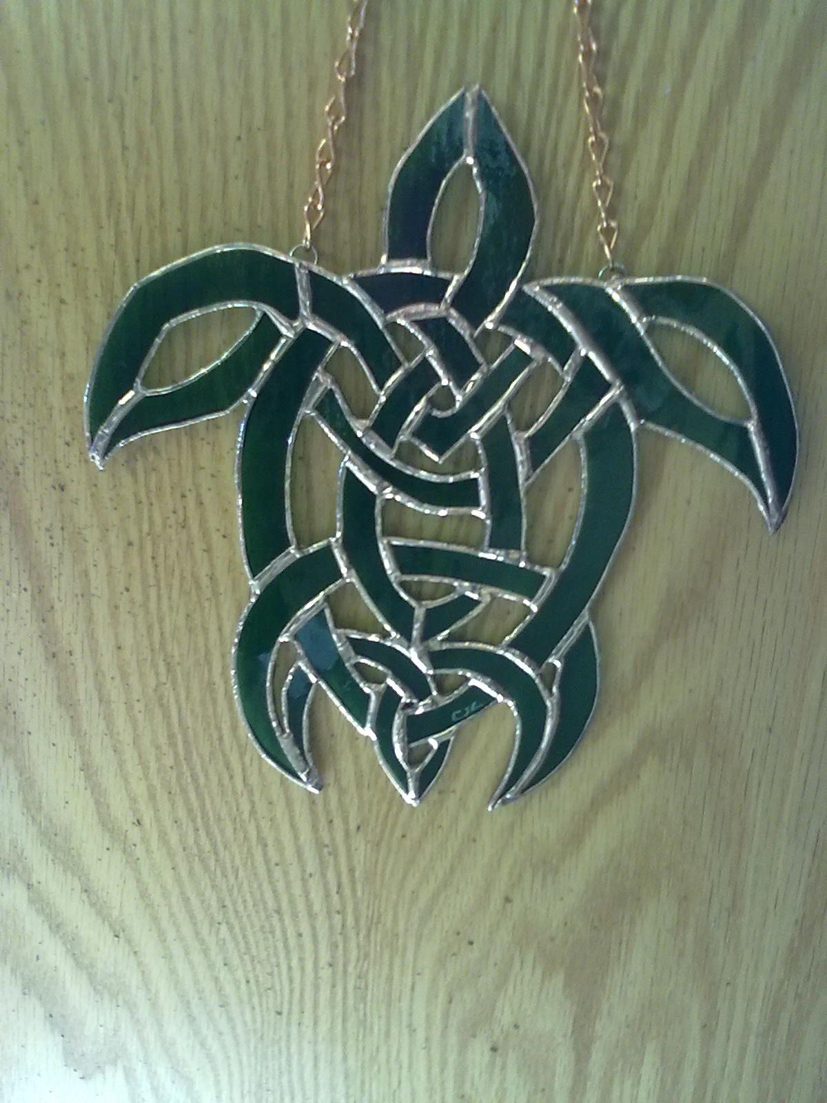 Kelis\' Celtic Knot Turtle / gift   Vitrales   Pinterest   Tortugas y ...