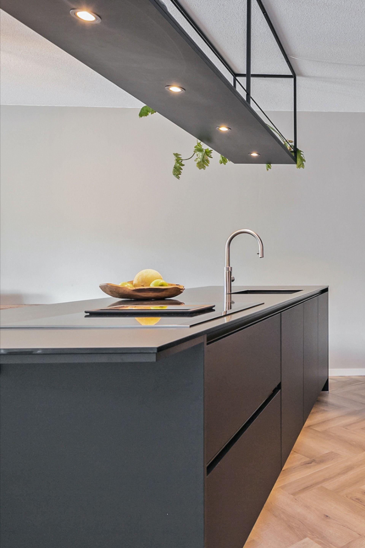 Mat Zwarte Keuken Keuken Ontwerp Keuken Idee Keuken