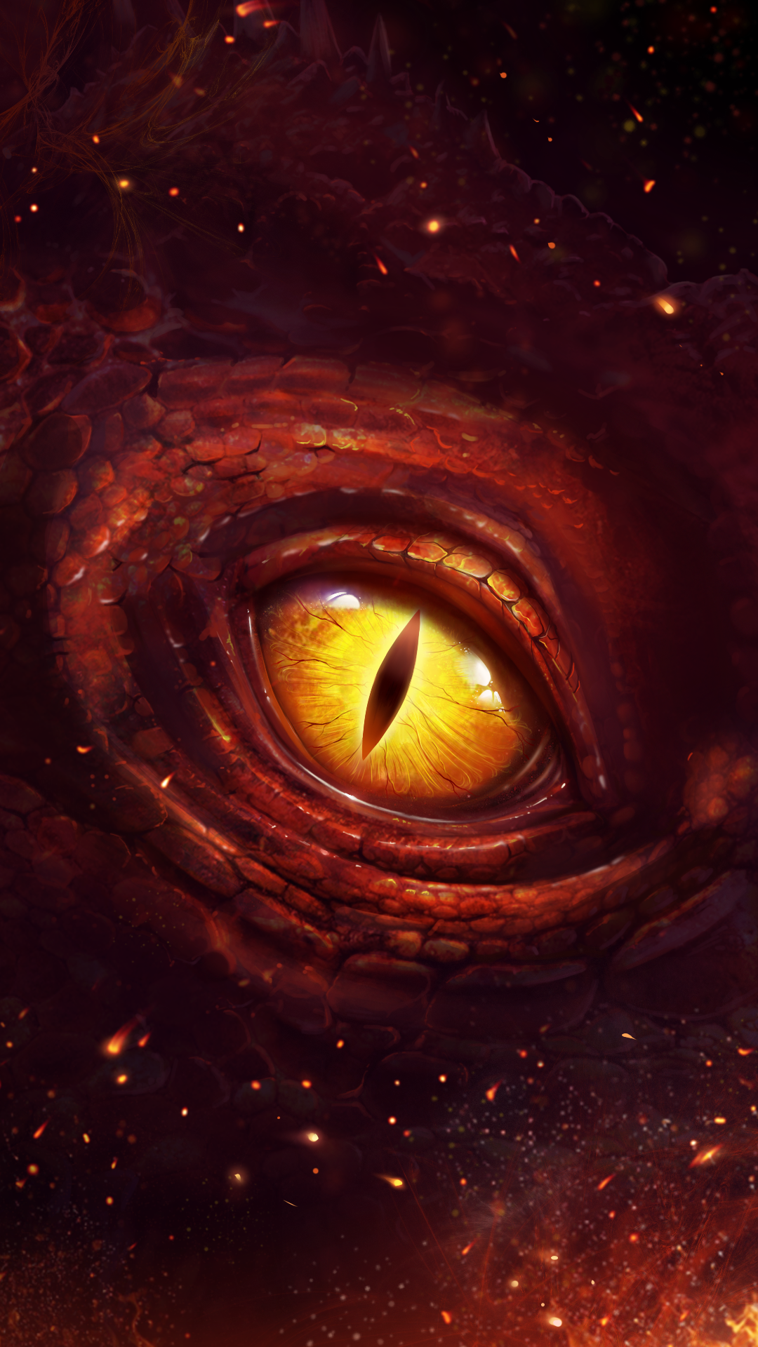Horrible dragon eye wallpaper!  Eyes wallpaper, Dragon eye, Live