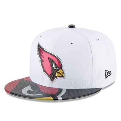 Arizona Cardinals New Era Youth 2017 NFL Draft Official On Stage 59FIFTY Fitted Hat - White