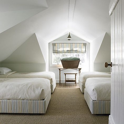 Beds For Attic Rooms high street market: a guest room in the attic. four beds one